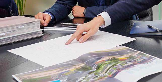 企画開発から設計・施工までの一貫対応で最適な土地活用を実現